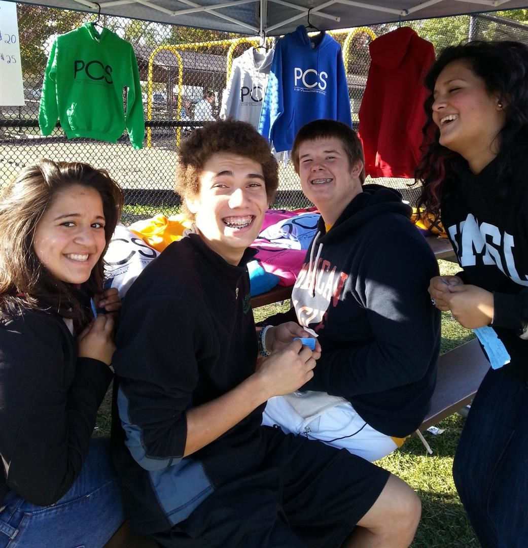Alumni at Fall Festival