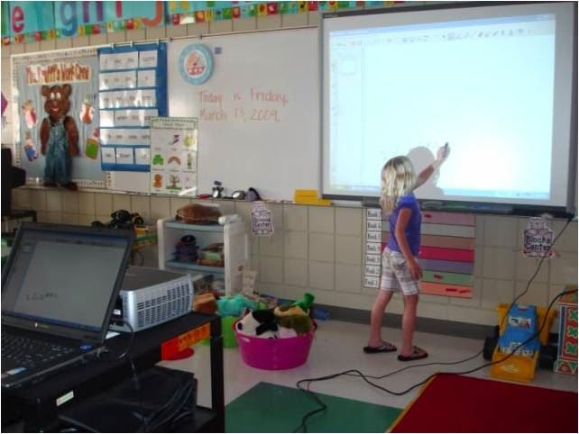 Using the SmartBoard