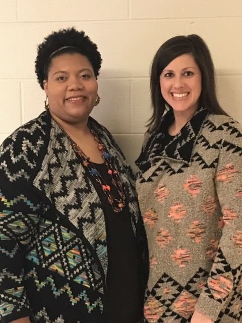 Tamiko Willis (Assiant) and Alisha Parramore (Lead Teacher)st