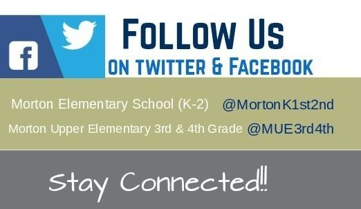 Follow Morton Elementary on Social Media